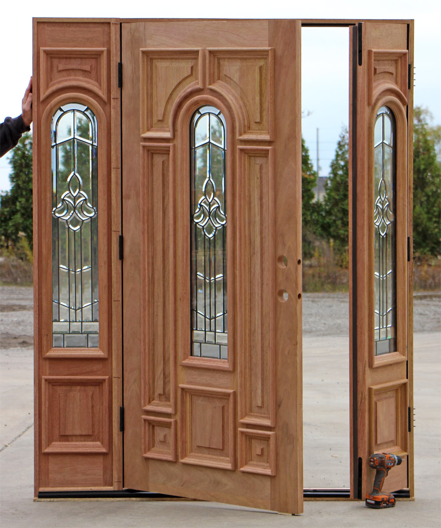 Exterior front doors with sidelights - Double Door Sidelight Sidelight Double Door Opens Sidelight As Double Door