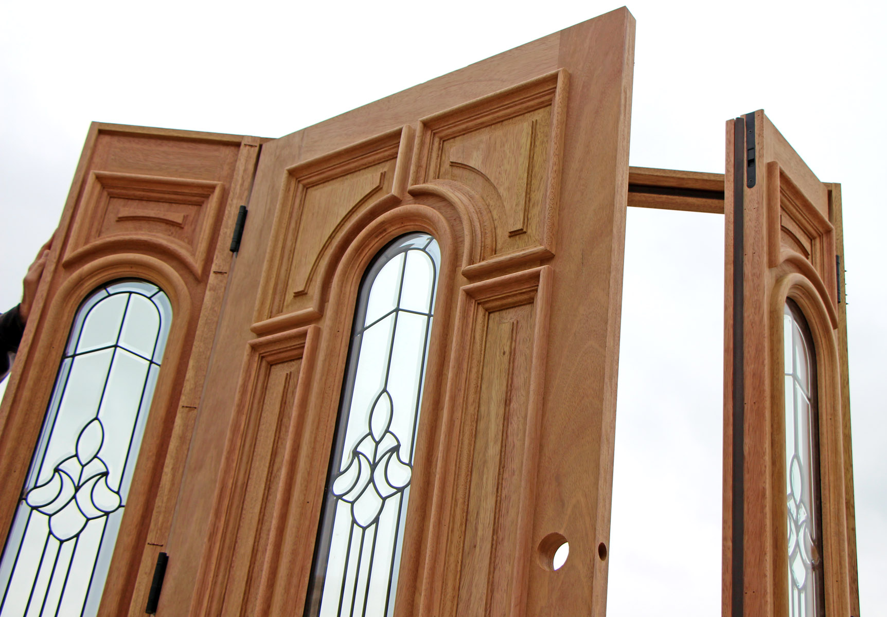 Double Door Sidelight Opens As Used In Setup