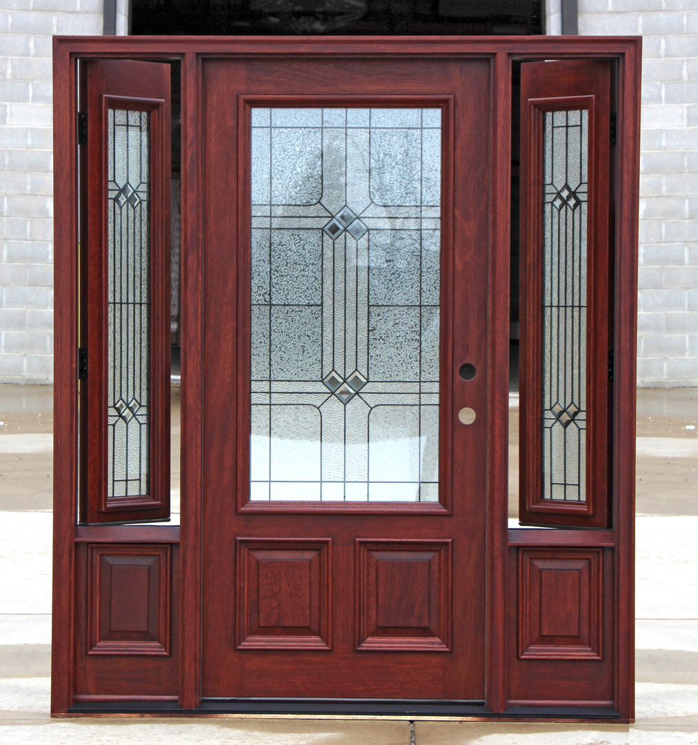 Front Door Side Window Film: Operable Sidelights