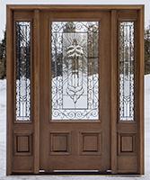 Mahogany Exterior Doors In Cherry Alder Exterior Doors In Teak · Affordable Wood  Front Doors