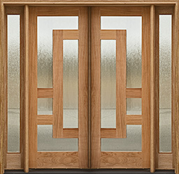 arcadia double door 2 sidelights