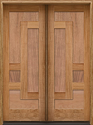 Arcadia double doors with panels