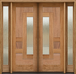 arcadia config 2 double door with 2 sidelights