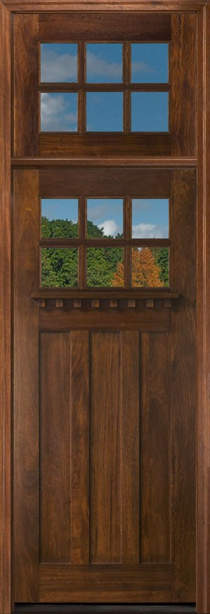 Craftsman Doors With Transoms
