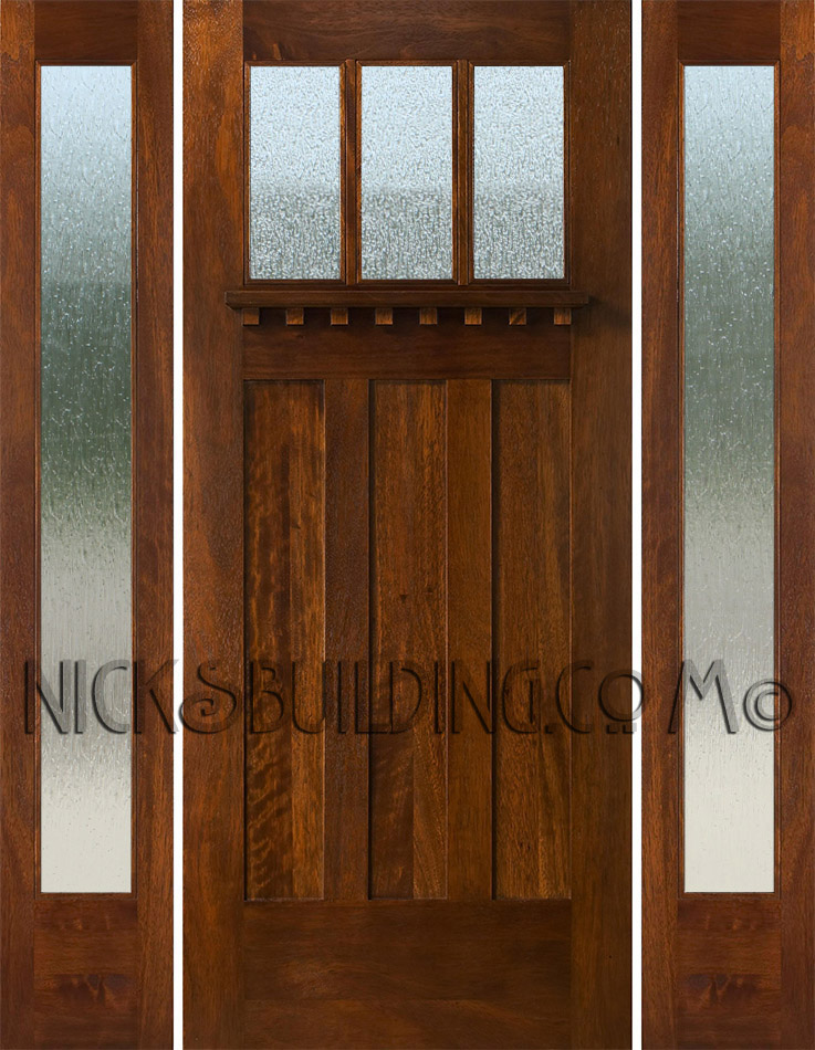 Craftsman Style Exterior Doors Hints On Buying Craftsman