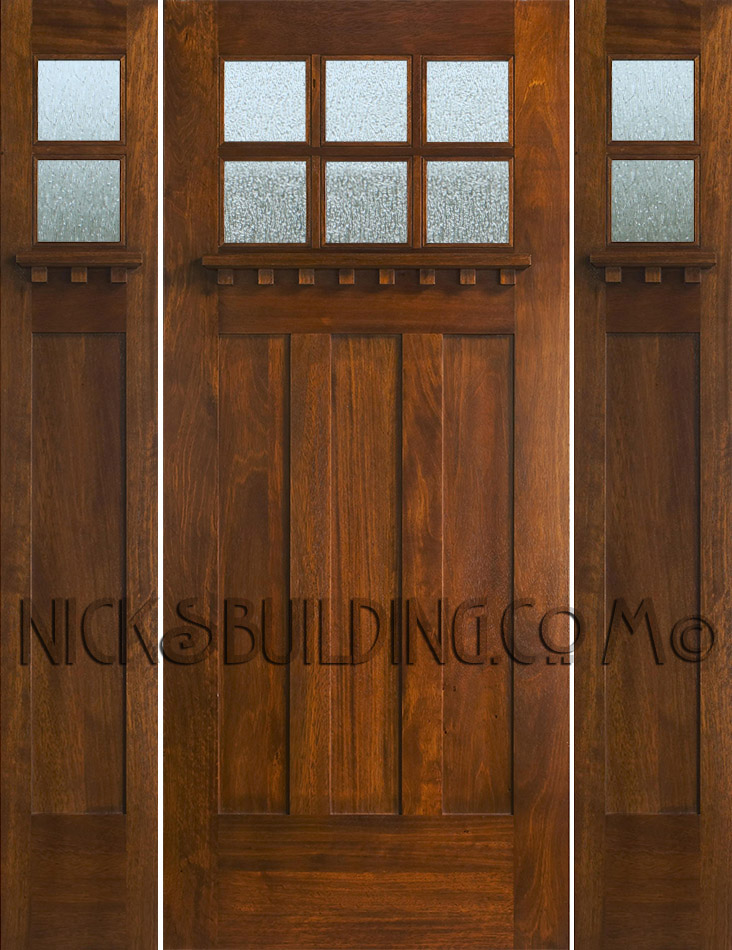 Mission style front door wooden mission style front door for Front door styles
