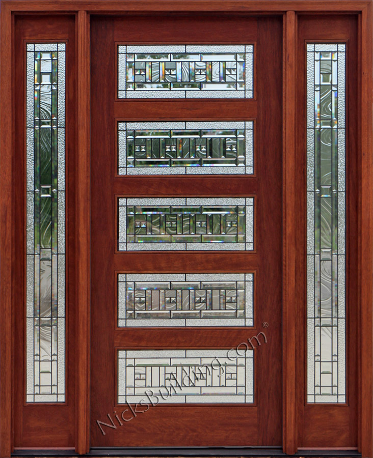 craftsman style doors craftsman doors with 2 sidelights
