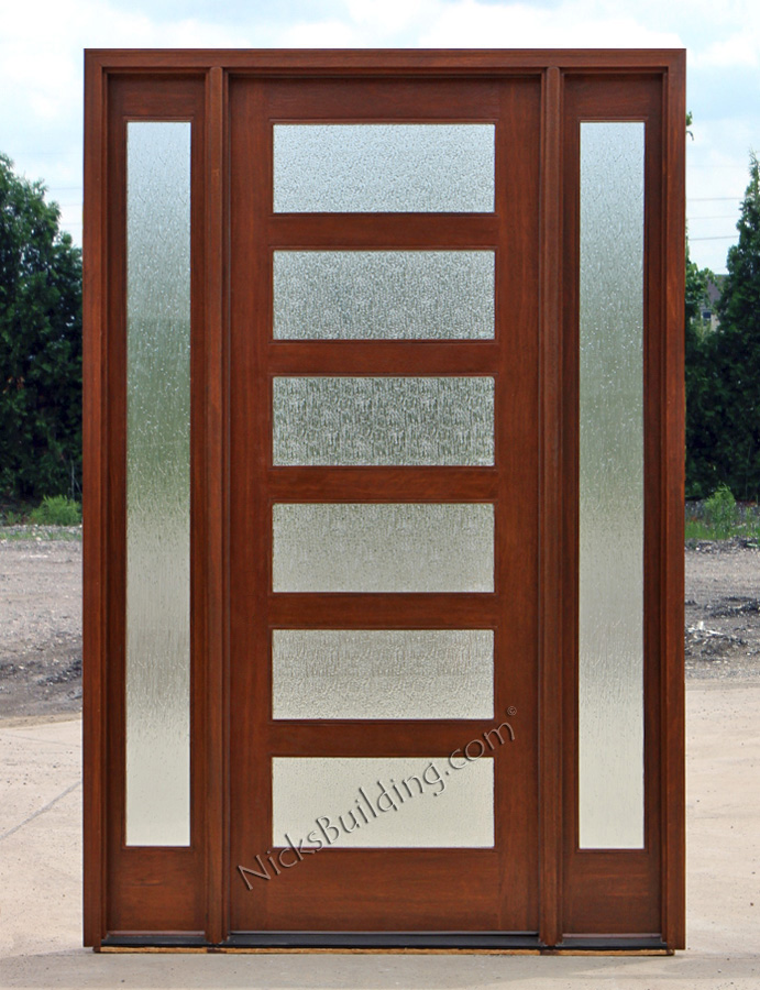 Arts and crafts style doors exterior for Exterior door styles