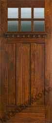 Craftsman style Door AC901 Reeded