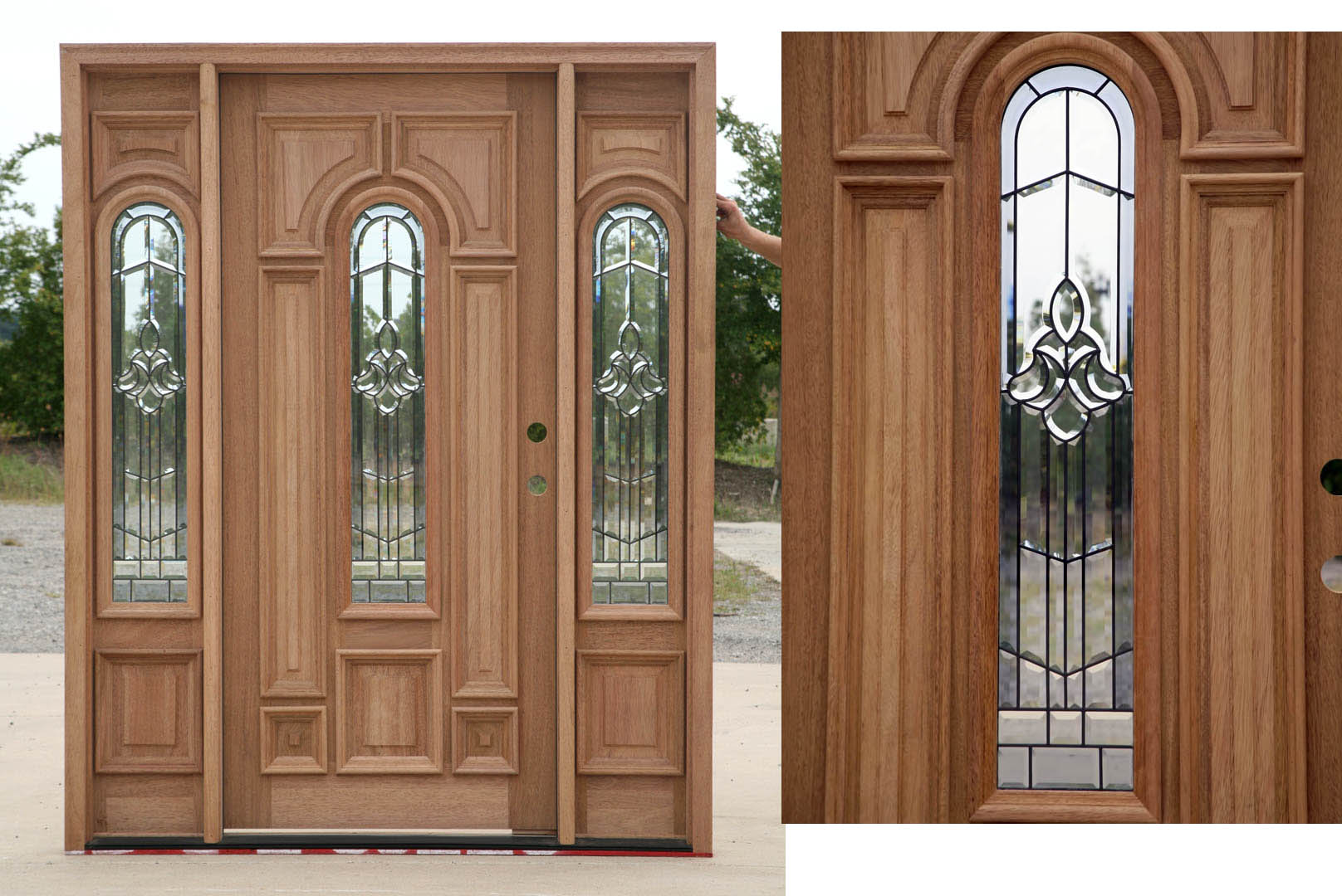 Front Doors Exterior Doors With Sidelights