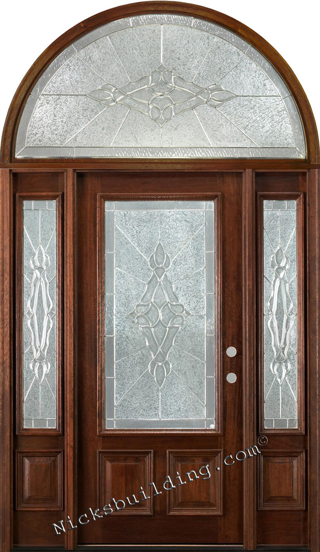 Exterior doors with sidelights wholesale clearance wood doors for Cheap exterior doors