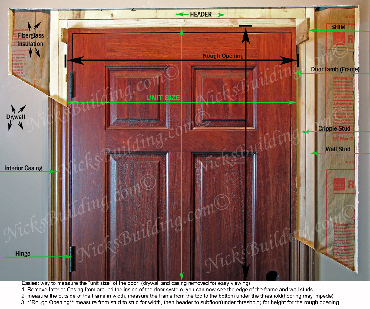 How To Measure Exterior Door Mycoffeepot Org