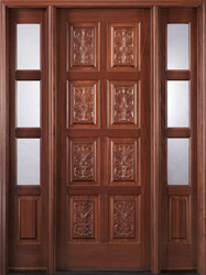 Carved Panel Doors