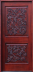Carved Doors Hand Carved Solid Mahogany Wood Doors