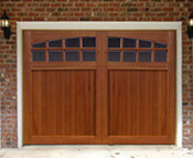 Cedar Insulated Garage Doors