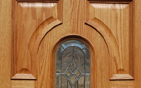 Oak single exterior door on clearance - 32x80 exterior door rough opening ...