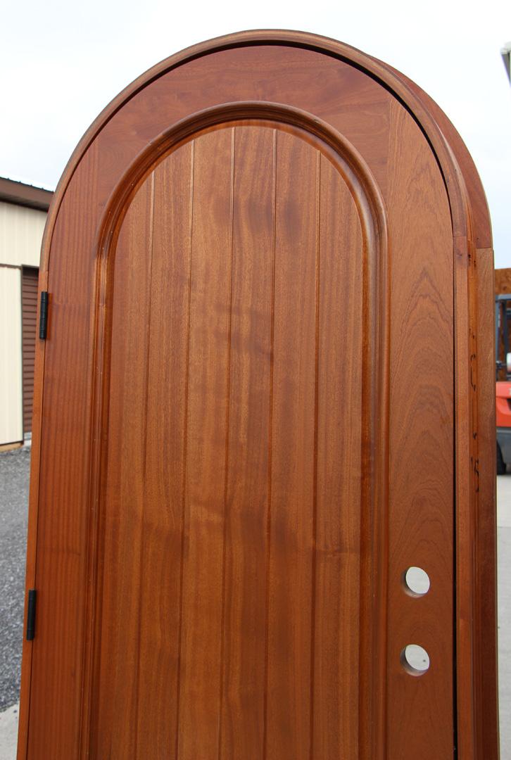 Arched Top Exterior Doors