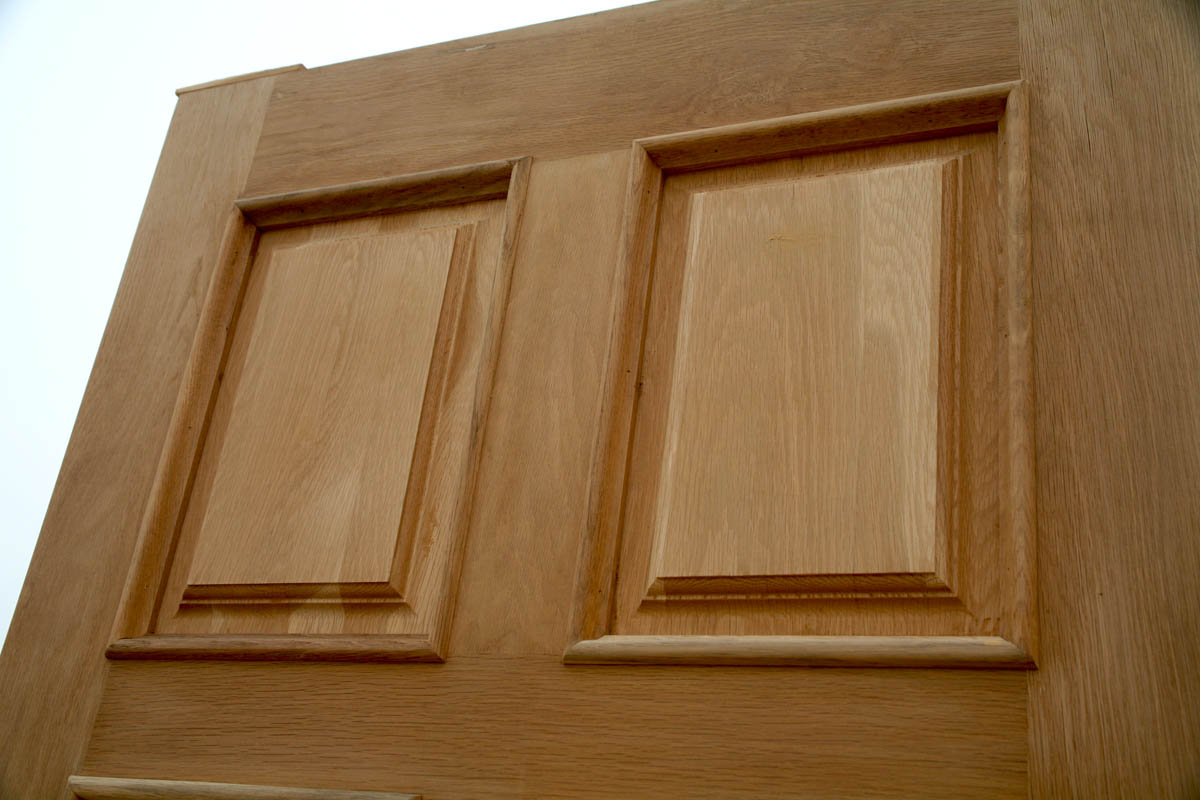 800 #471900 Oak Exterior Door With Two Sidelights pic Clearance Entry Doors 44311200