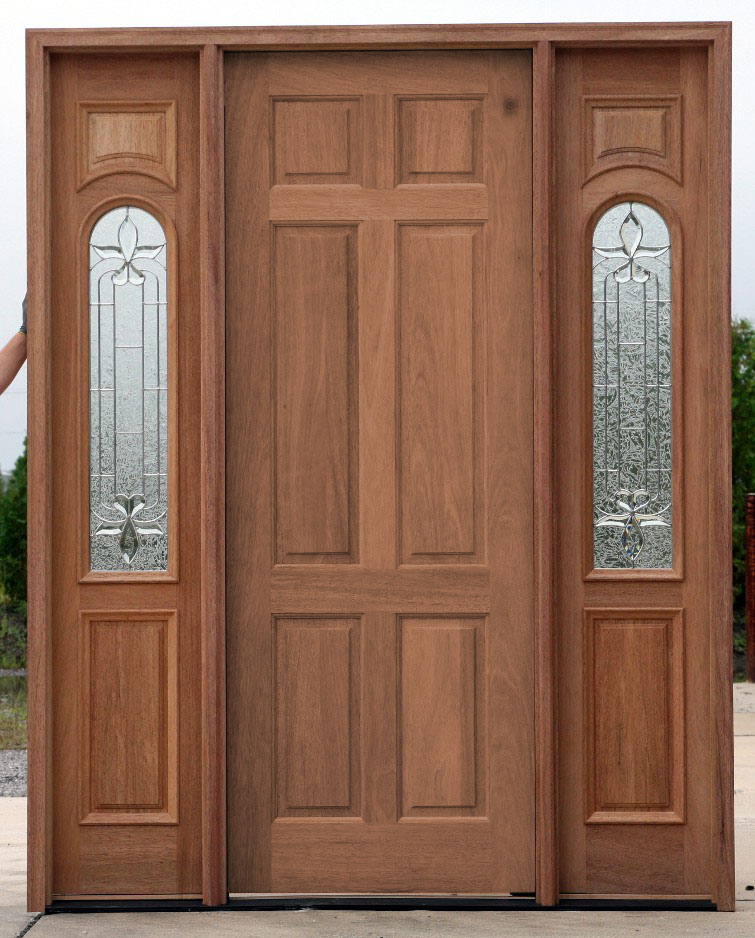 Cheap exterior doors with sidelights for Front door and sidelights