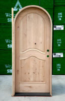 Arched Exterior Single Door