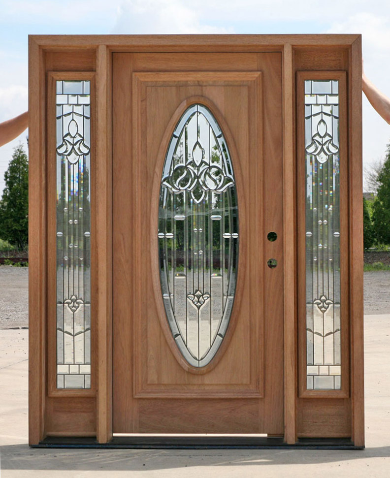 Nice Doors With Sidelights