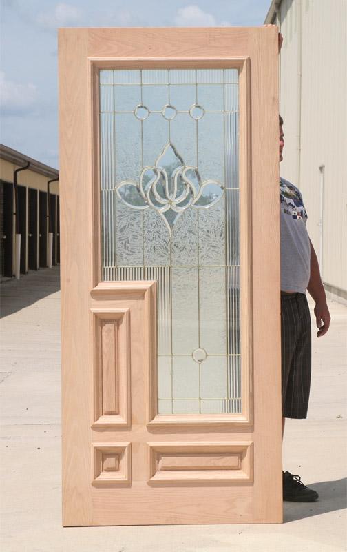 Caoba Doors Model 850tg Oak Brass Came