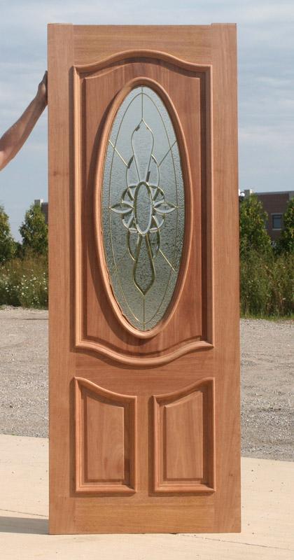 Mahogany Exterior Door Clearance