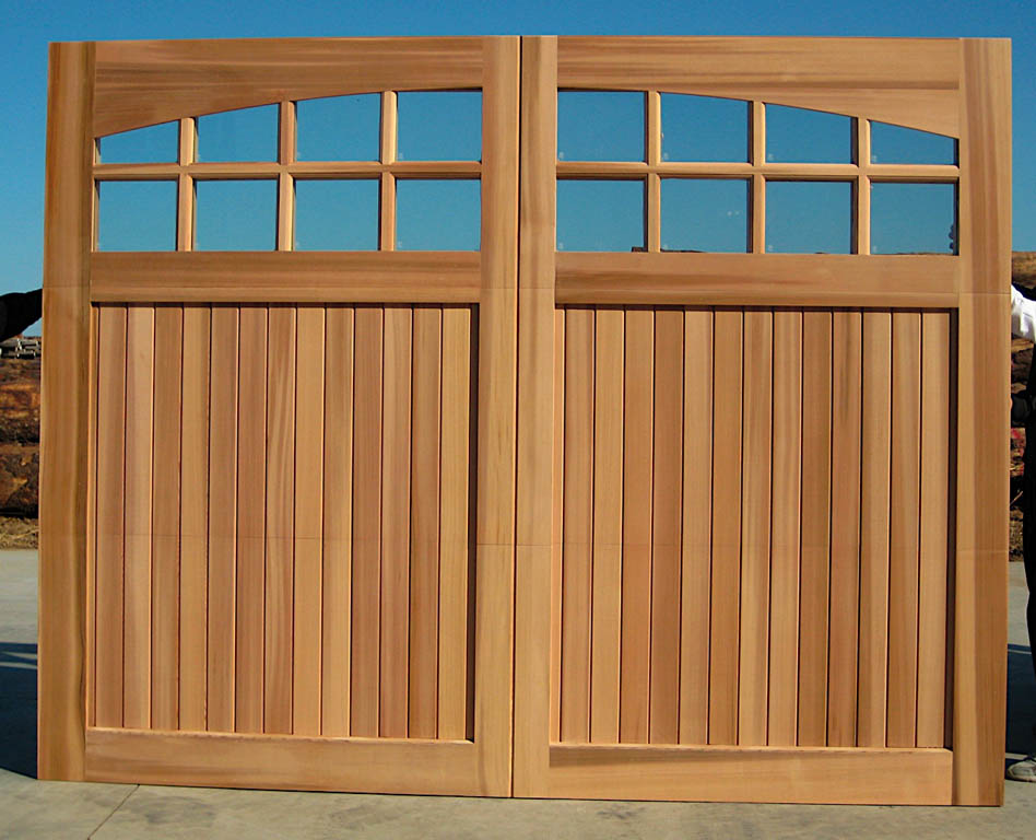 wood garage door 1999 un finished 10 x 8 sunburst