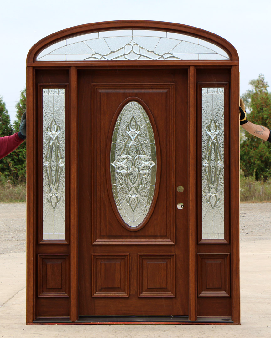 Exterior Door Transoms & Elliptical Transom Doors clearance doors