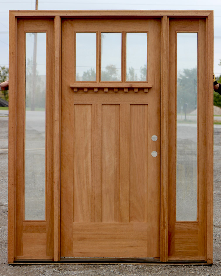 Craftsman exterior doors in 7 39 0 for Best entry doors