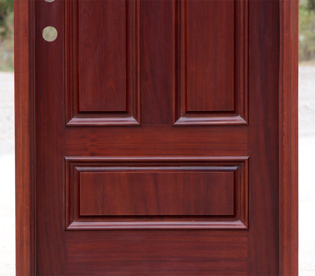 900 #481818 Arched Top Round Top African Mahogany Exterior Door save image Arch Doors Exterior 39771027