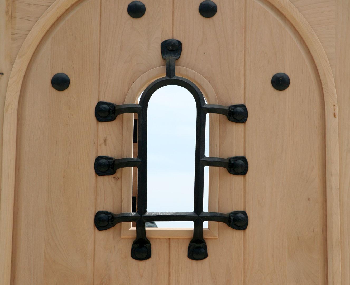 1080 #1C7EAF Southwest Series Doors Radius Top Alder Door wallpaper Radius Top Entry Doors 38951327
