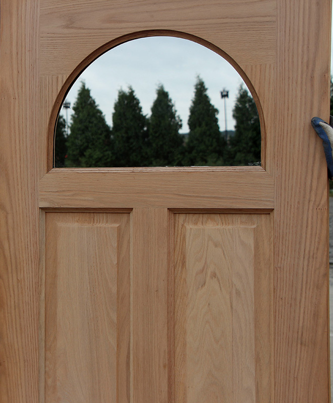 Exterior Oak French Door Clearance