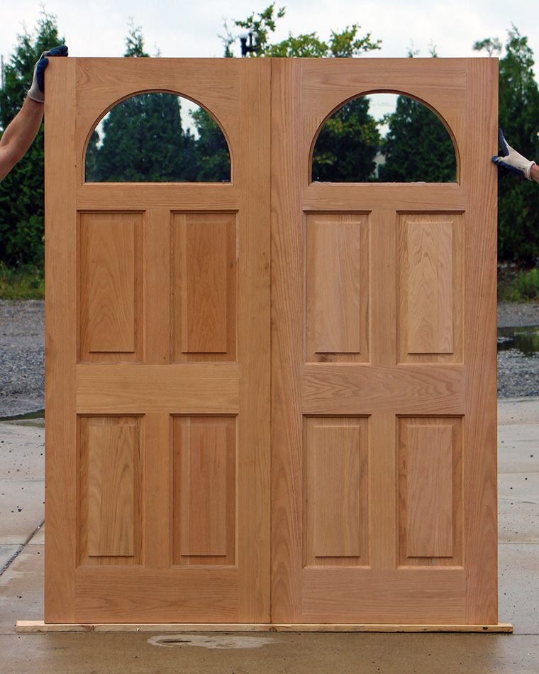 Exterior oak french double doors clearance for French doors exterior cheap
