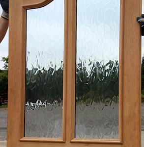 Exterior Oak Double Doors On Clearance