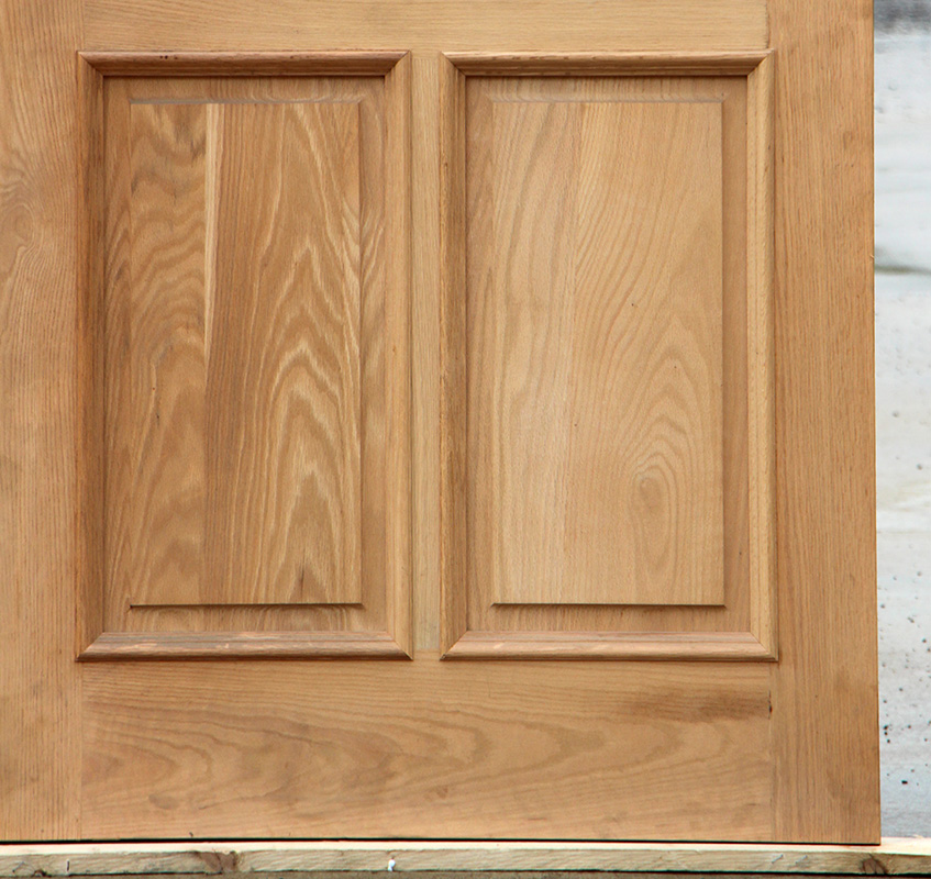 Exterior Oak Door With Flemish Glass Clearance