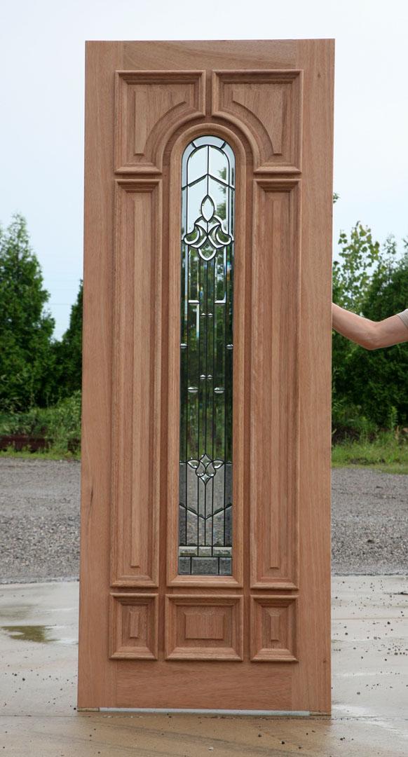 Solid Mahogany Door Exterior Wood Door