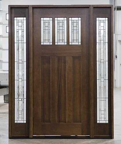 Pfc Ac 601 Walnut Mahogany Entry Doors