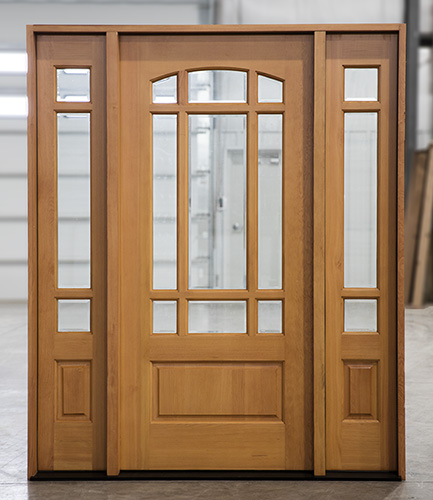 PFC-102 Douglas Fir Door System