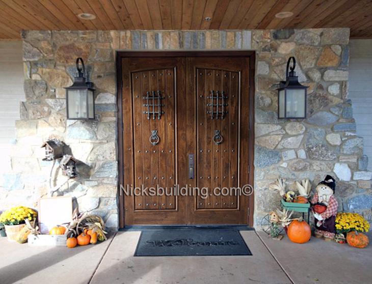 rustic double front door. Rustic Double Front Door L