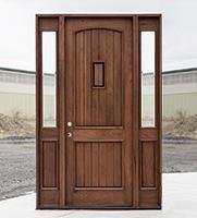 33, CL 2749 Teak Entry Door With Speakeasy