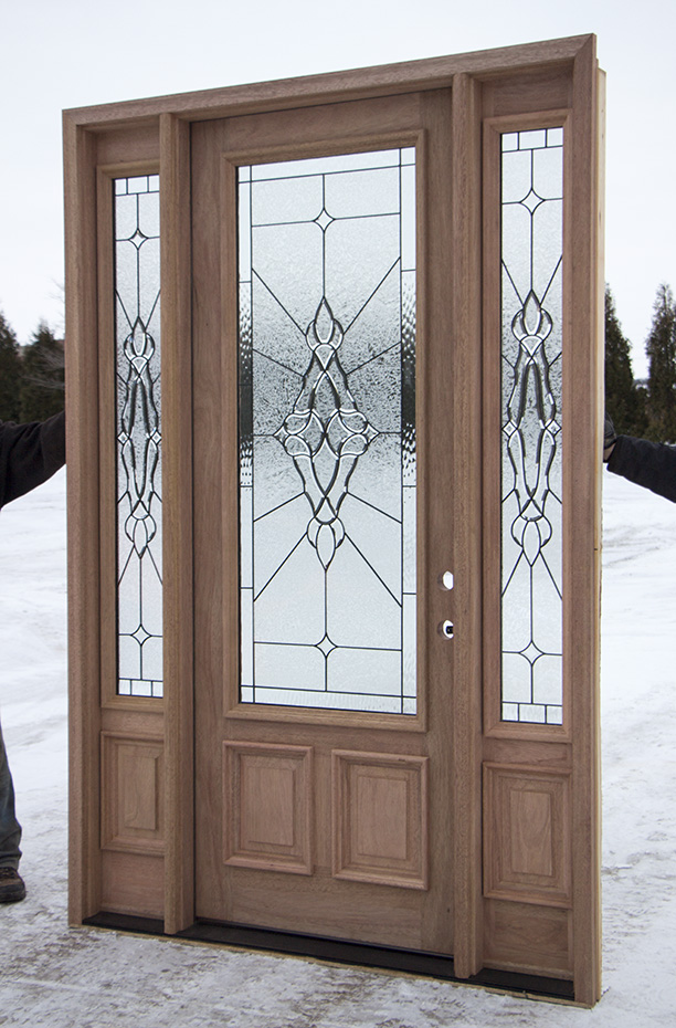 8 foot mahogany exterior door cl 101 for 9 foot exterior doors