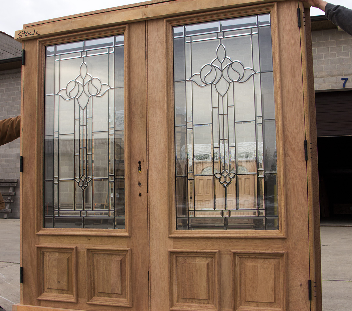 Exterior Double Doors With 3 Point Lock Doors Cl 103
