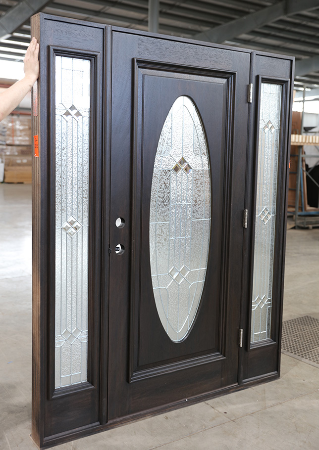 Exterior Oval Doors With Sidelights