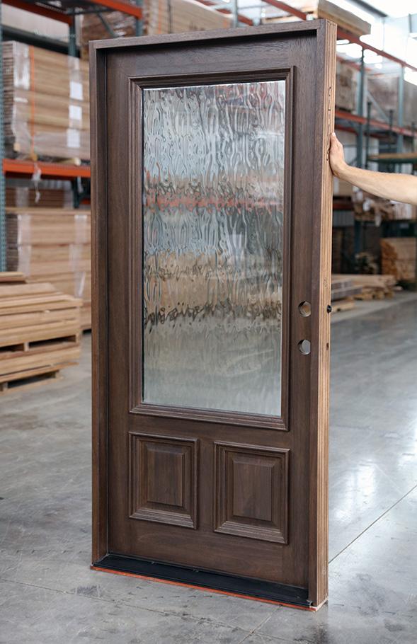 Flemish Glass Front Doors