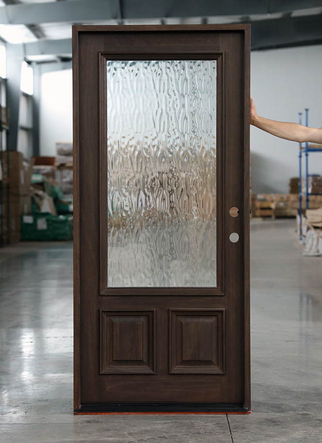 Flemish Glass Front Doors