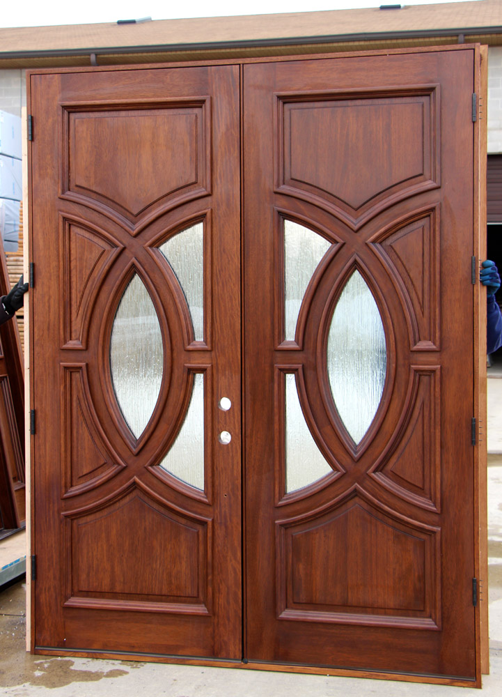 Olympus Portillo Double Doors With Rain Glass