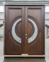 CL-15 Tiffany double doors