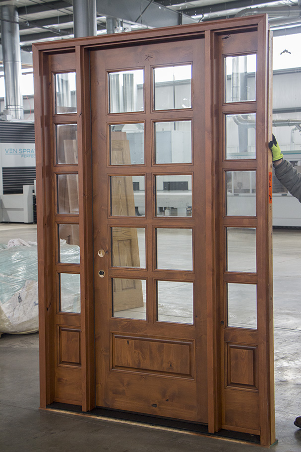 10 Lite Rusticl Exterior Doors With Sidelights