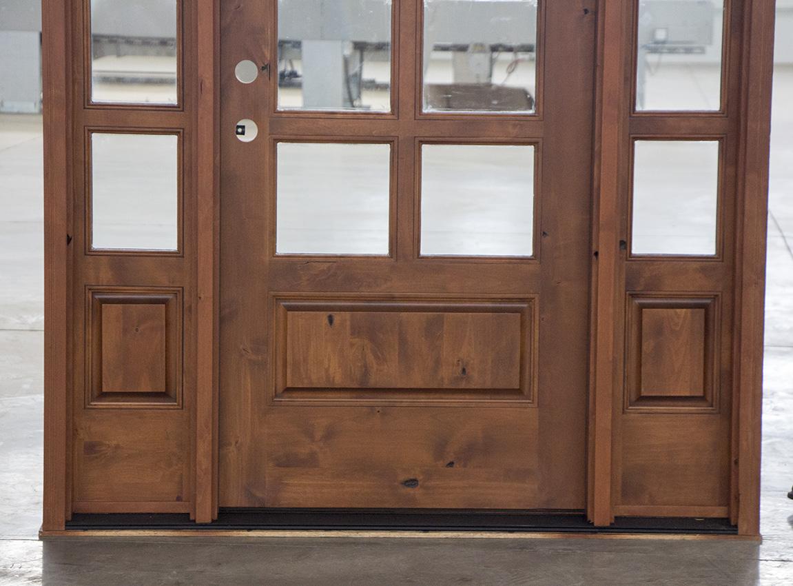 Modern Exterior Door With Multi Point Locks 4 Door Lites: 10-Lite Rusticl Exterior Doors With Sidelights